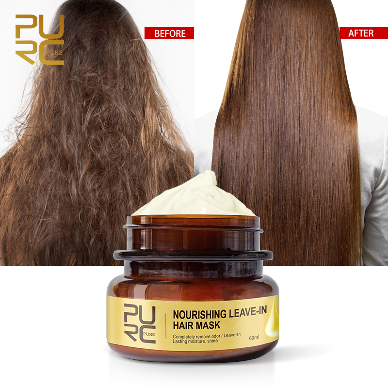 PURC Nourishing Leave-In Hair Mask Completely remove odor Lasting moisture shine Hair Treatment 11.11 3