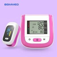 Medyczny cyfrowy pulsoksymetr monitor tlenu i tętna ciśnieniomierz nadgarstkowy miernik saturacji SpO2 PR