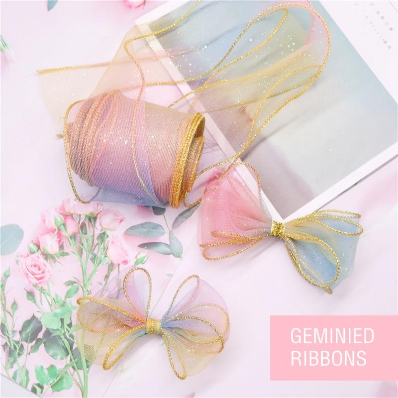 Ribbon 32mm GREY Decoration Sewing Satin Silk Hair Bow Gift Present Wrapping