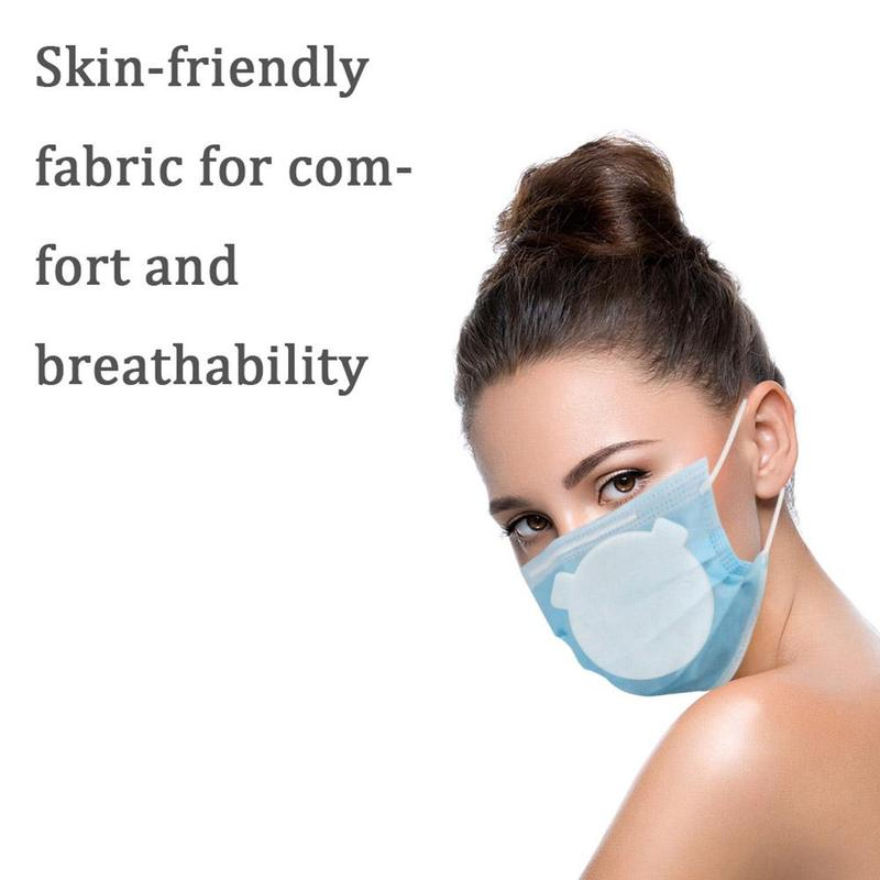 10/20/50pcs Round Anti Bacterial Replaceable Filters Efficient Filtration Air Pollution Face Mouth Mask Respirator Accessories