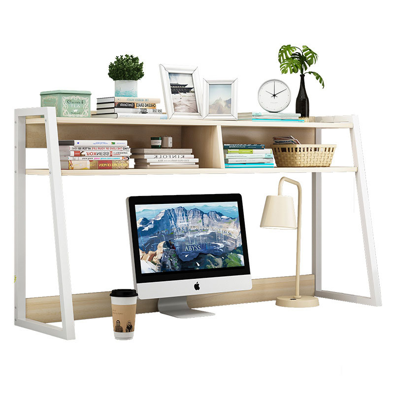 Desktop Shelf Provincial Space Student Desk Household Simple Dormitory Tieyi Small Bookshelf Desk Shelf