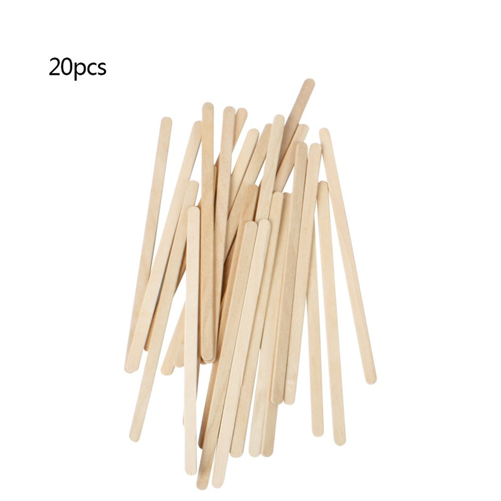 Mini Wood Sticks Beauty Body Tools Hair Removal Wax Wood Stick Wax Stick Ice Cream Stick Mask Stick Face Sticks