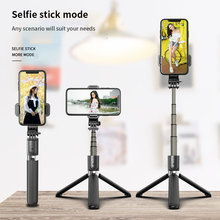 Tragbare Selfie Stick Wireless Selfie Stick Bluetooth Fodable Telefon Tisch Halter Stehen Stativ Selfiestick Einstellbare Winkel(China)