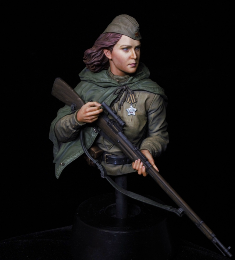 1:10 Resin Kit Bust Figure Model