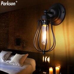 E27 klasyczna ściana lampy przemysłowe Retro żarówka ledowa w stylu edisona kinkiety światło wewnętrzne lampki nocne Loft oświetlenie do dekoracji domu