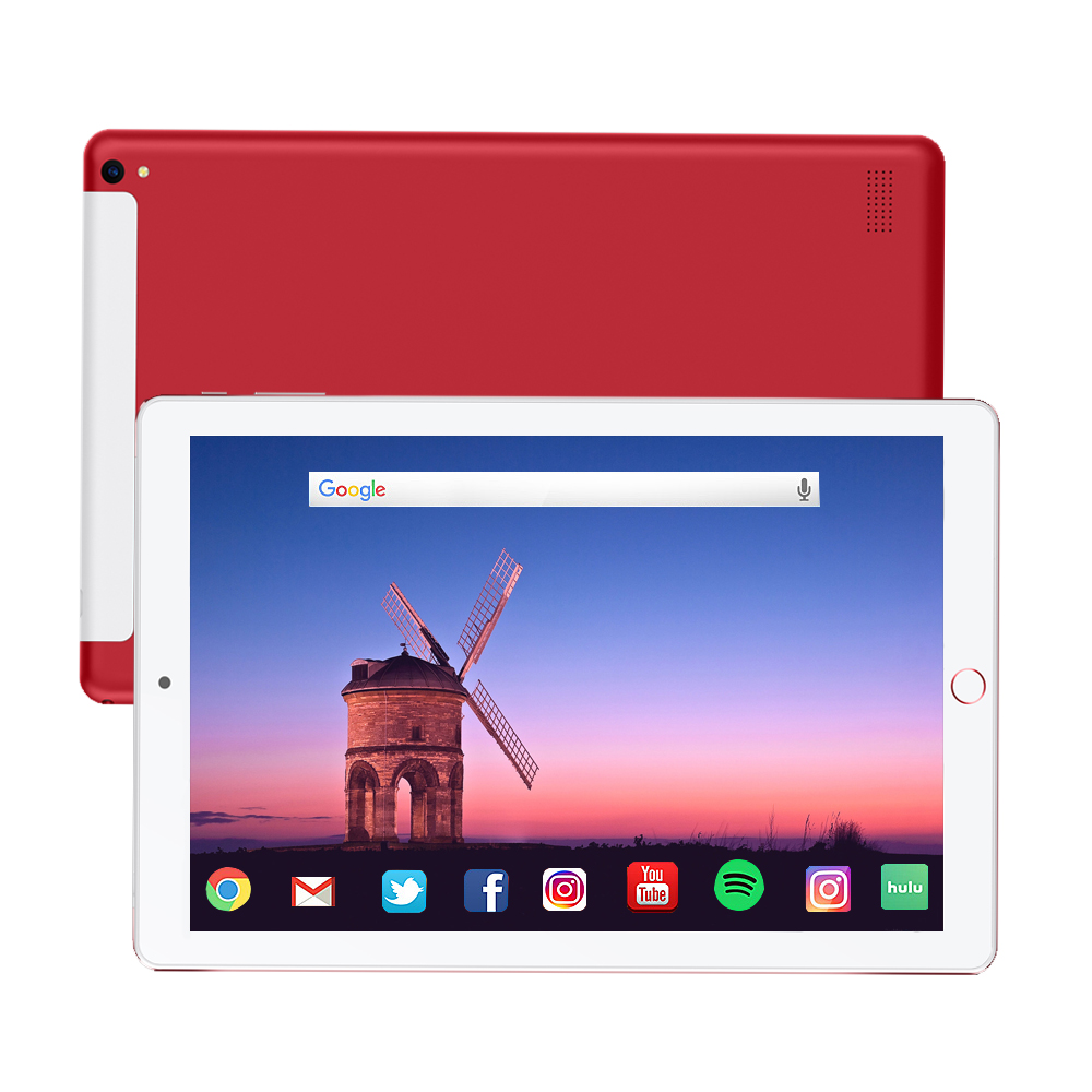 2020 NEW 10.1 Inch Tablet Pc Octa Core Android 8.1  6GB RAM 128GB ROM IPS Dual SIM Phone Call Tab Phone Pc Tablets
