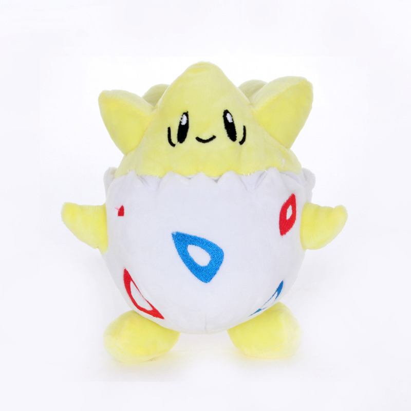 1pcs Cute 20cm Togepi Plush Toys Dolls Togepi Plush Pendant Soft Stuffed Toys For Children Kids Birthday Christmas Gift