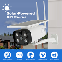 IP Wifi Camera Solar Panel Outdoor HD 1080P Wireless Camera CCTV Security Surveillance Builtin Rechargeable Battery Low Power