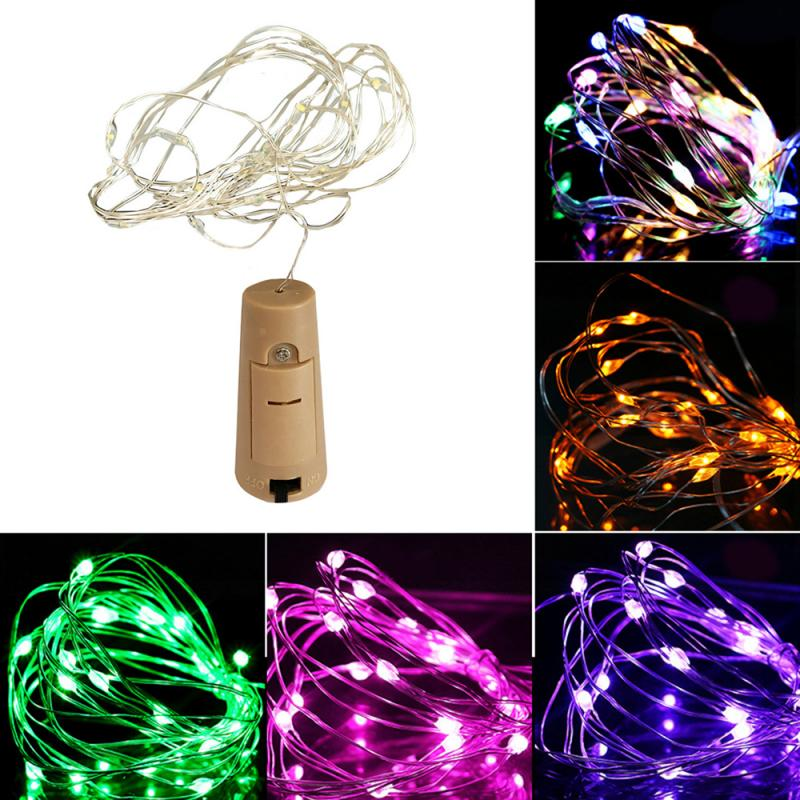 30 LED Wine Bottle Cork With 3M Lights String Bottle Battery Operated Fairy Light Wedding Party Birthday Decor Led Lights String