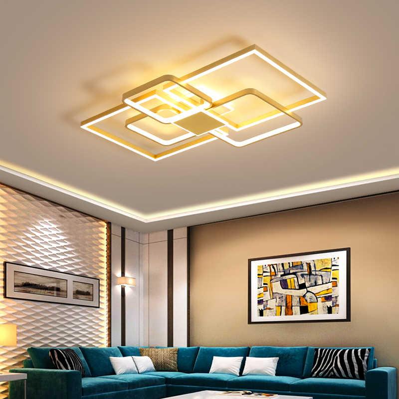 Verllas Decke Beleuchtung für Wohnzimmer Esszimmer Gold decke Leuchten  Lustre Home Decke Lampe Kreisförmige decke licht