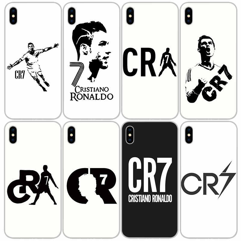 Cr7 ronaldo suave de silicona TPU fundas para iPhone 11 Pro XS Max X XR 8 7 6 6S Plus funda de silicona 5S SE 4S