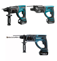 18V 4.0Ah electric drill  charged combined hammer  lithium electric three purpose electric drill Two batteries and one charger|Electric Drills| |  -