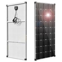 panel solar 300w 12v kit placa solar cargador solar placas paneles 1000w inversor sistema energía del hogar cargador batería para coche RV barco camper caravana montable camping fotovoltaico impermeable autocaravan