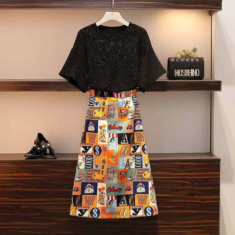 Plaid Rock Plus größe Sommer Rock Frauen 2020 Koreanische Mode Kleidung Jupe Femme Hohe taille 4XL