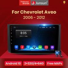 Junsun V1 pro 2G + 128G Android 10 pour Chevrolet AVEO T250 2006 - 2012 autoradio multimédia lecteur vidéo Navigation GPS 2 din dvd