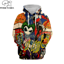 PLstar Cosmos jack skellington Jack Sally 3d hoodies/shirt/Sweatshirt Winter Nightmare Before Christmas Halloween streetwear-28 недорого