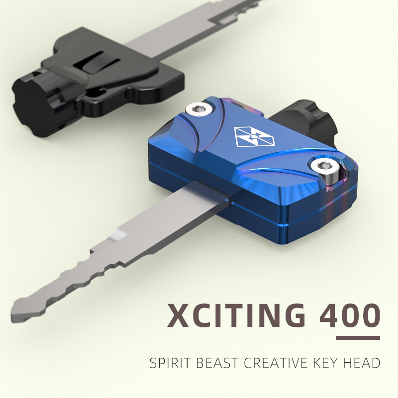 SPIRIT BEAST Motorcycle Key Case Cover Shell Aluminum Alloy CNC Accessories For Kymco Xciting 400