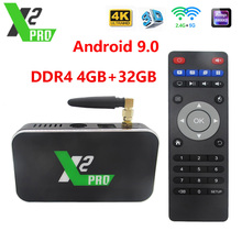X2 cube 2.4G/5G WiFi 1000M LAN Smart Android TV Box Amlogic