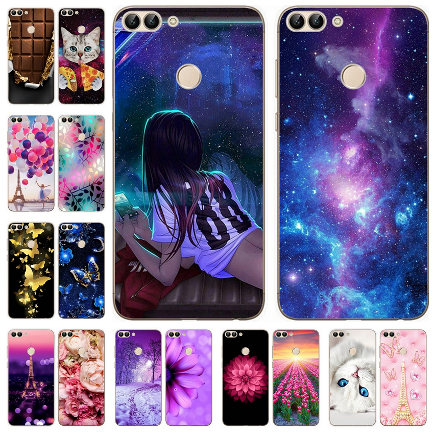 for Coque Huawei <font><b>P</b></font> <font><b>Smart</b></font> 2019 Case Cover Fundas Soft Silicone Case For Huawei PSmart 2019 Phone Cover 6.21