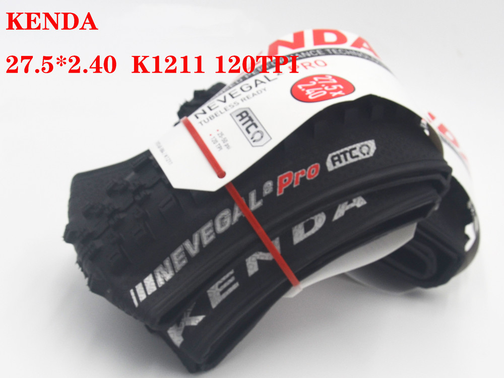 KENDA ultralight MTB Folding Tire DH Downhill Tires 120 TPI 27.5 / 29 * 2.2 / 2.4 Bicycle Tires     - title=