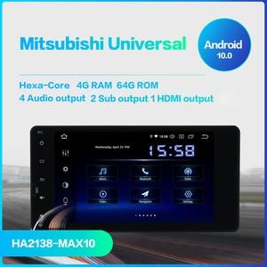 """Image 2 - Dasaita 7 """"z systemem Android 10 nawigacja samochodowa GPS Radio odtwarzacz dla Mitsubishi Outlander Lancer X ASX 2014 2015 z Octa Core 4GB 64GB Auto Stereo"""