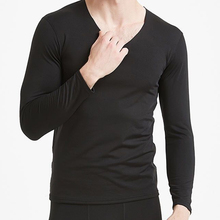 Thermal-Underwear-Sets Leggings Shirt Long-Johns Winter Autumn Male O-Neck Velvet Thick
