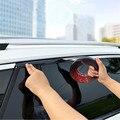 Черная хромированная молдинговая отделка, защитные полосы для дверей автомобиля, оконные зеркальные бамперы, противоударный корпус, ПВХ хр...