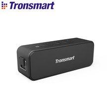 Tronsmart-altavoz portátil T2 Plus con Bluetooth 5,0, barra de sonido con NFC, TWS, asistente de voz, Micro SD, 24H, 20W