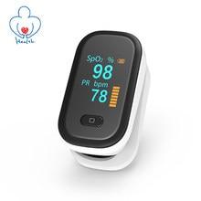 Oxigênio no sangue oled dedo oxímetro spo2 oxímetro de pulso pr fingertip oxímetros portátil saturação medidor monitor de freqüência cardíaca