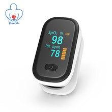 Oxímetro de pulso oled spo2 pr dedo oxímetro oxigênio no sangue fingertip oxímetros portátil saturação medidor monitor de freqüência cardíaca pulsometr pulsossimetro