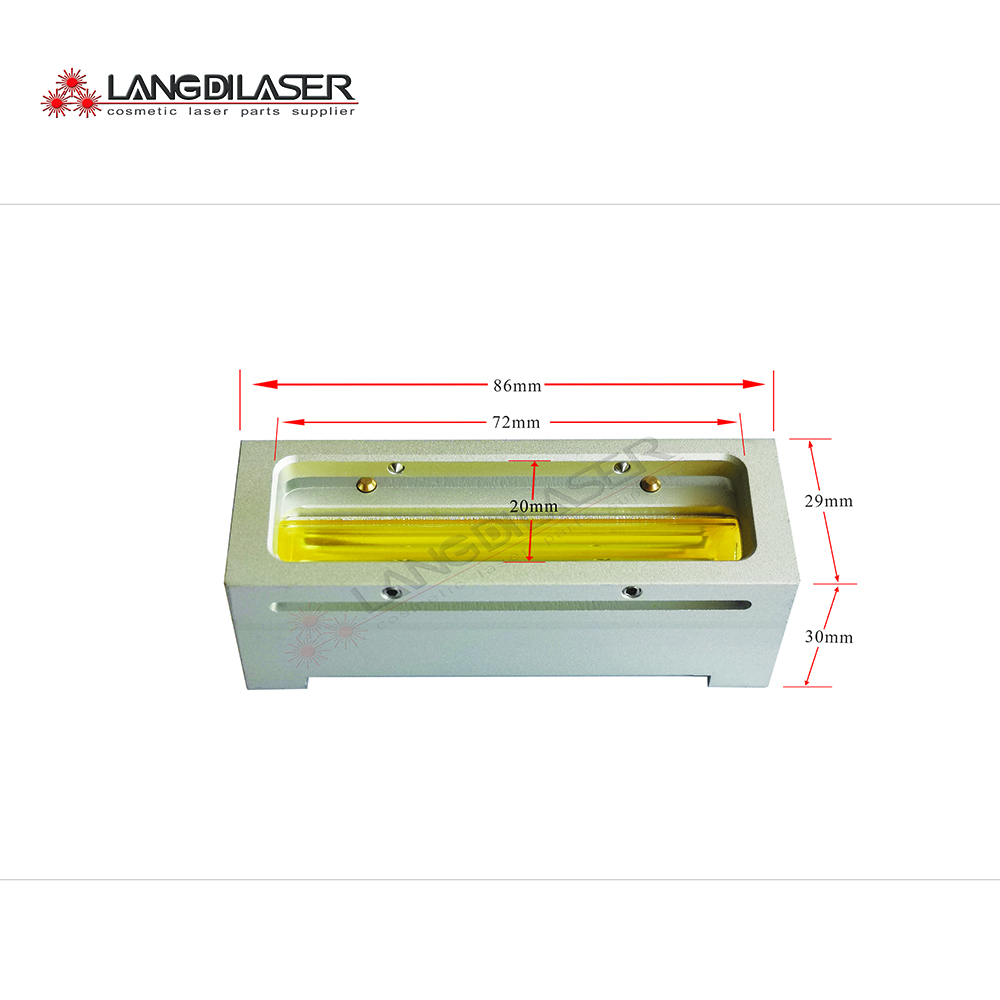SHR Handpiece Reflector Cavity Part For Filter Changable Handpiece,include : Lamp Flow Tube,silver Reflectror,aluminum Cavity...