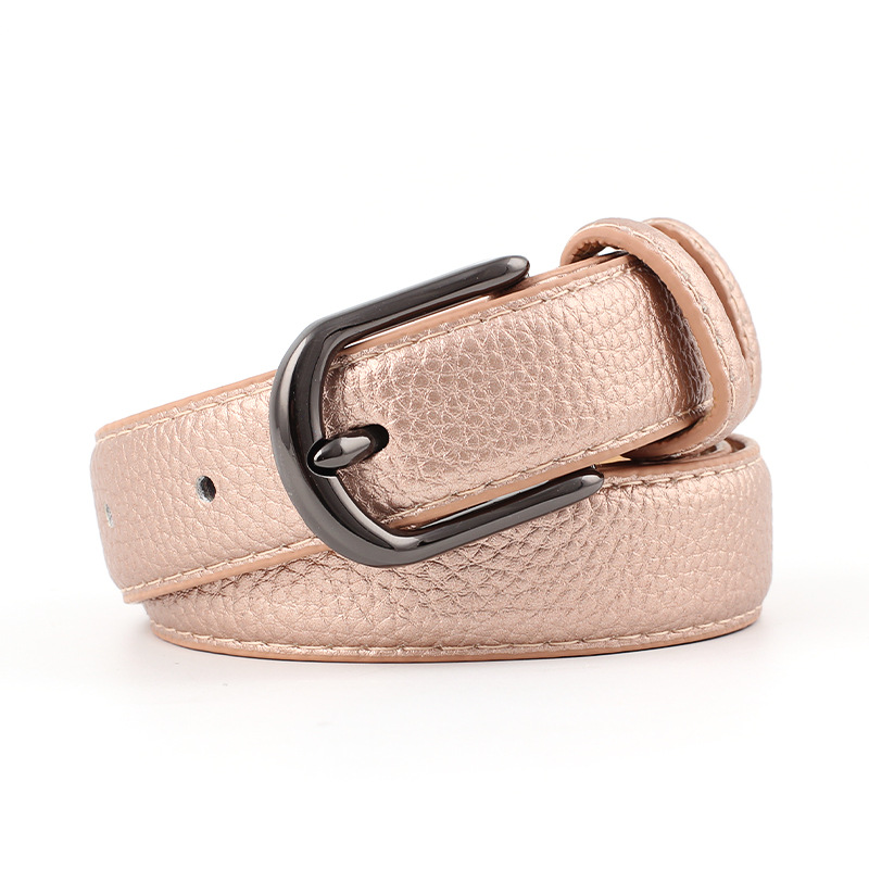 Genuine Leather Belts For Men New Fashion Luxury Strap Male Classic Vintage Pin Buckle Men Belt High Quality Punk Fashion