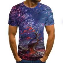 Erkek 3D baskılı kara delik 3DT gömlek serin ve ilginç gömlek erkekler kısa kollu yaz üst T-shirt erkekler ve kadınlar moda 3D T