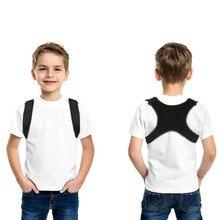 Meninos meninas ajustável postura corrector volta apoio crianças ombro cinto retificar endireitar correção alívio da dor beleza do miúdo
