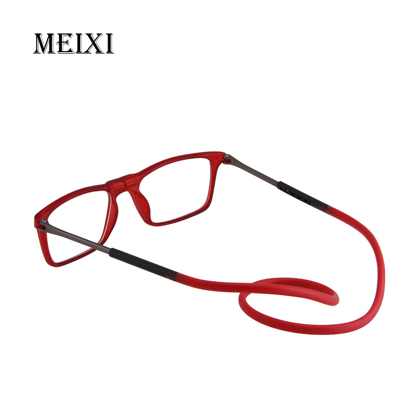 New Portable Reading Glasses Neck Hanging Men's And Women's Universal TR90 Presbyopic Glasses +1 +1.25 1.5 +1.75 +2.25 +2.75 +4