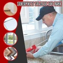 14шт шпаклевка отделочник конопатить насадка аппликатор герметик из нержавеющей стали отделка окна инструментов комплект для ванной комнаты кухни совместного раковина