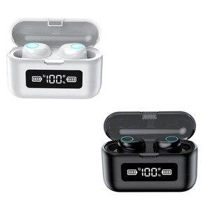 Image 2 - 003 auricolare Bluetooth Wireless TWS auricolari Stereo cuffie con cancellazione del rumore con microfono vivavoce per telefono cellulare