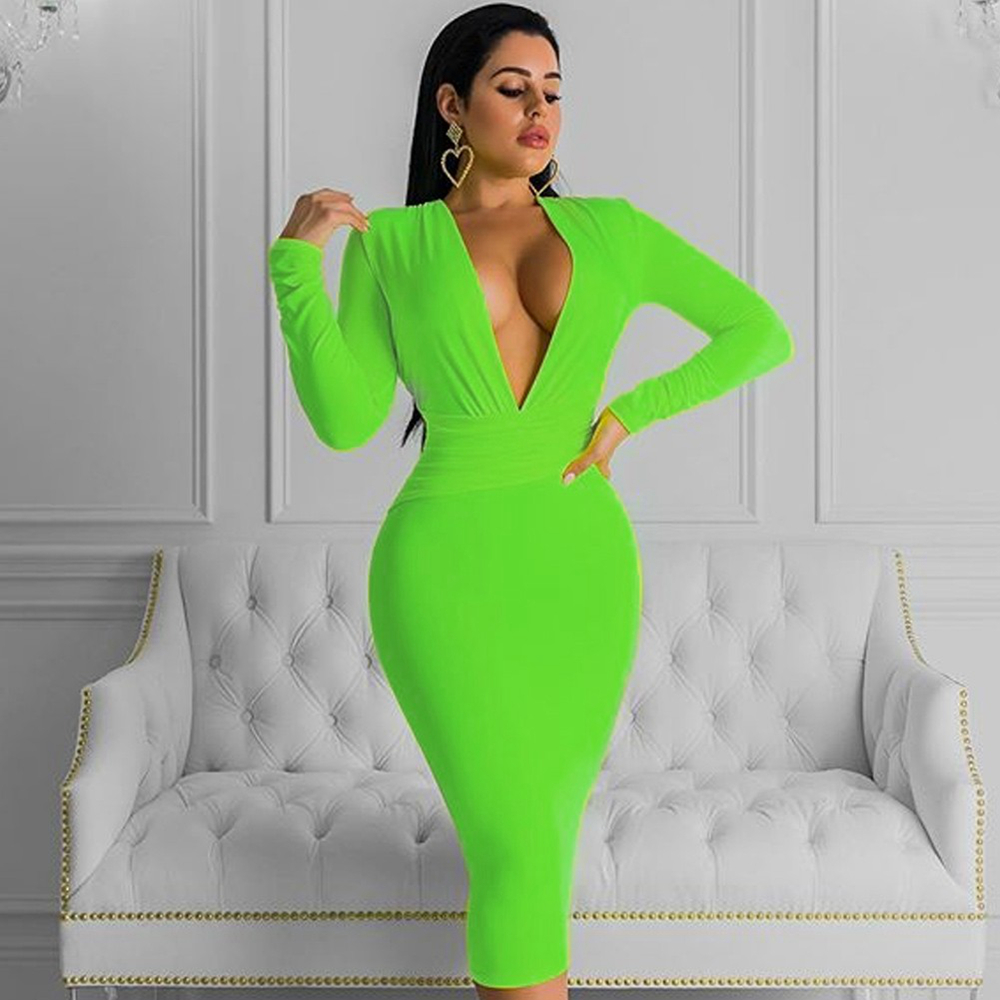 Sexy Green Neon Fashion 5
