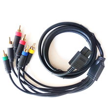 Multifunctional RGB/RGBS Composite Cable Cord for SFC N64 NGC Game Console Accessories With Strong Stability