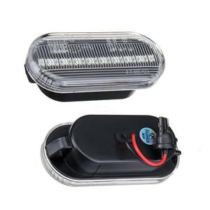 Image 3 - 2Pcs Led Dynamische Side Indicator Marker Signal Light Lamp Sequentiële Knipperlicht Voor Vw MK4 Jette Bora Golf 3 4 Lupo Passat