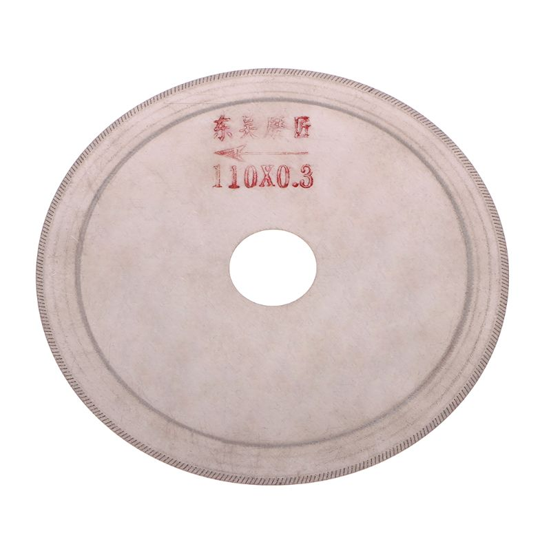 Ultra-thin Diamond Saw Blade Slant Teeth Cutting Tools For Stone Agate Jade 80mm, 100mm, 110mm, 120mm, 150mm