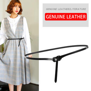 DINISITON Brand Belts Skirt Genuine-Leather Luxury Women Strap Female Quality New-Style