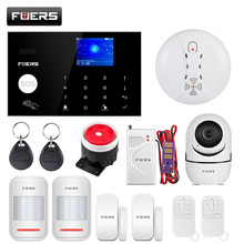 Fuers G34 WIFI 4G Burglar Security Alarm System Motion Detector Smart Life APPควบคุมเครื่องตรวจจับควันไฟ