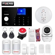 Fuers G34 WIFI 4G Home Burglar Security Alarm System Motion Detector Smart life APP Control Fire Smoke Detector Alarm