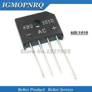 10PCS KBU1010 KBU-1010 10A 1000V diode bridge rectifier new and original IC