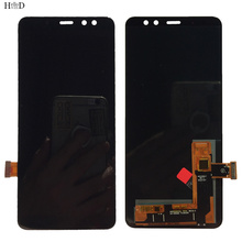 OLED LCD Display For Samsung Galaxy A8 2018 A530 A530F A530DS A530N SM-A530N Touch Screen Digitizer Panel LCD Display Assembly
