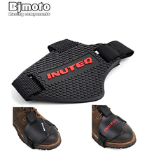 Motorbike Shoes Protective Anti-slip Motorcycle boots Gear Protective Shift Gear Shoe Hood Cushion Free Size foot shoes protect x ray protection radiation boots cover 0 5mmpb protective shoe covers foot protective