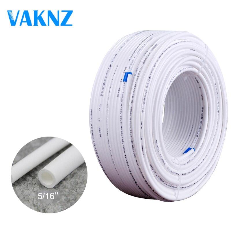 2020 Promotion Mangueira Para Ducha Ducha Higienico Cold Steel Pe Pipe Water Purifier Tube 8mm 5/16