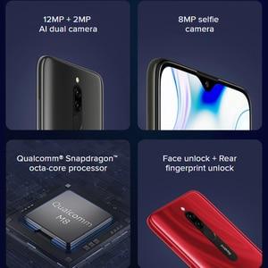Image 4 - Xiaomi Redmi 8 teléfono inteligente con Octa Core, 4GB RAM, 64GB ROM, procesador Snapdragon 439, cámara Dual de 12,0mp, batería de 5000mAh, pantalla HD de 6,22 pulgadas