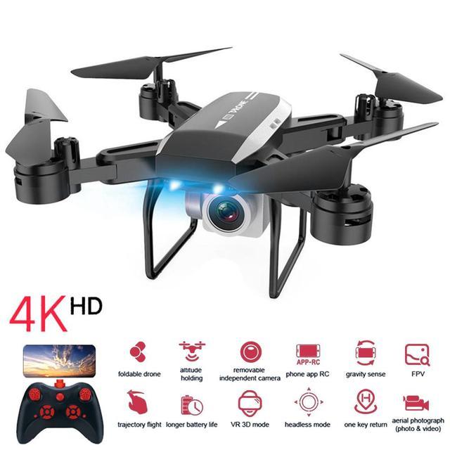 KY606D Drone 4K Hd Luchtfotografie 1080P Vier As Vliegtuigen 20 Minuten Vlucht Luchtdruk Hover Een key Take Off Rc Quadcopter